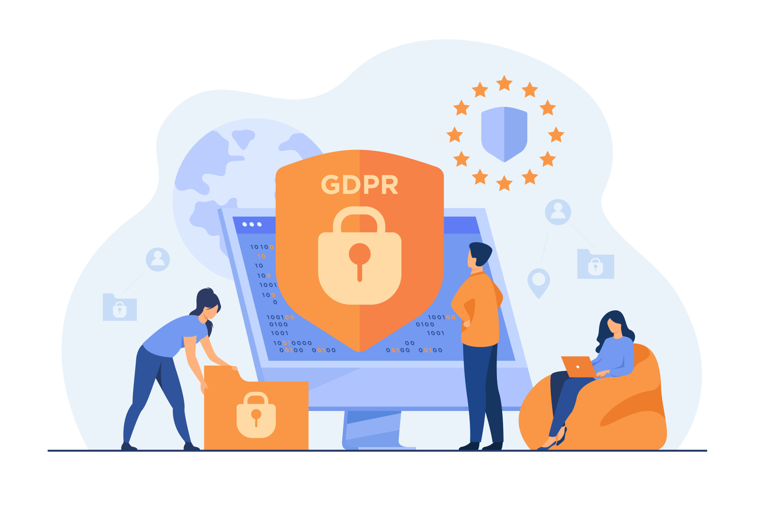 Global data protection and transfer compliance and policies (GDPR, POPI)